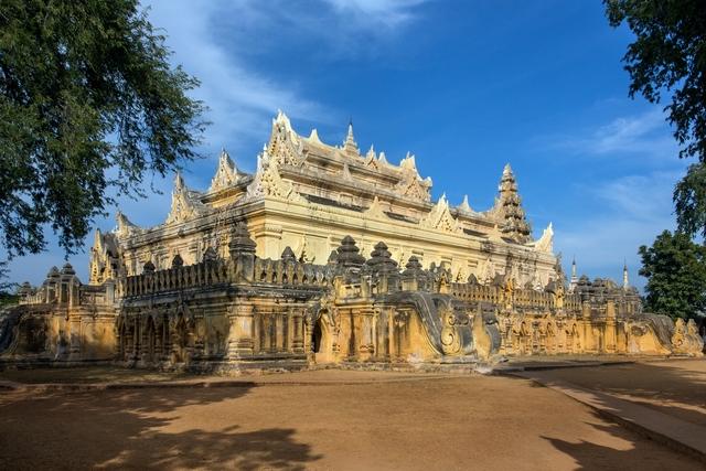 Ancient Monastery Ruins - Innwa - Myanmar