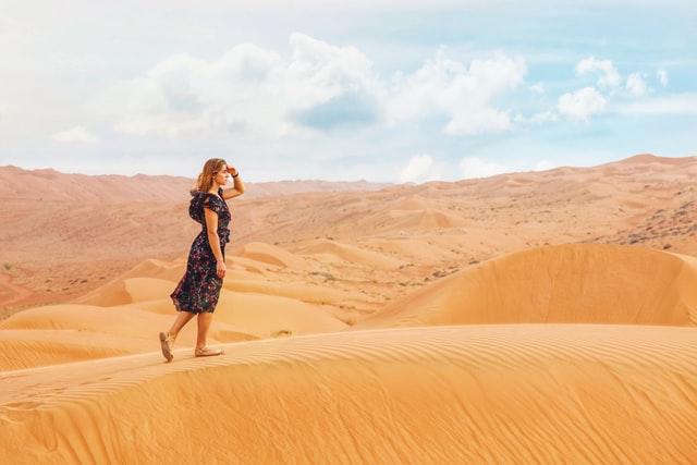 Omani desert